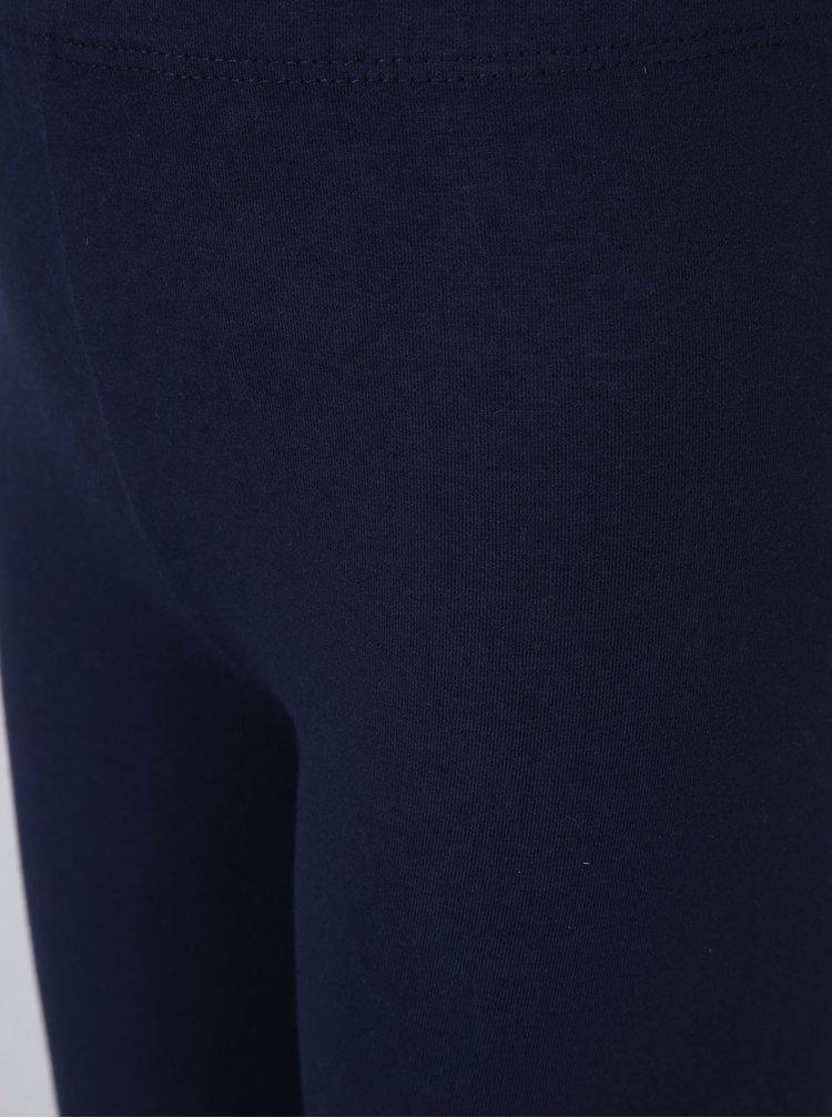 Tmavě modré dětské kraťasy s potiskem 5.10.15.