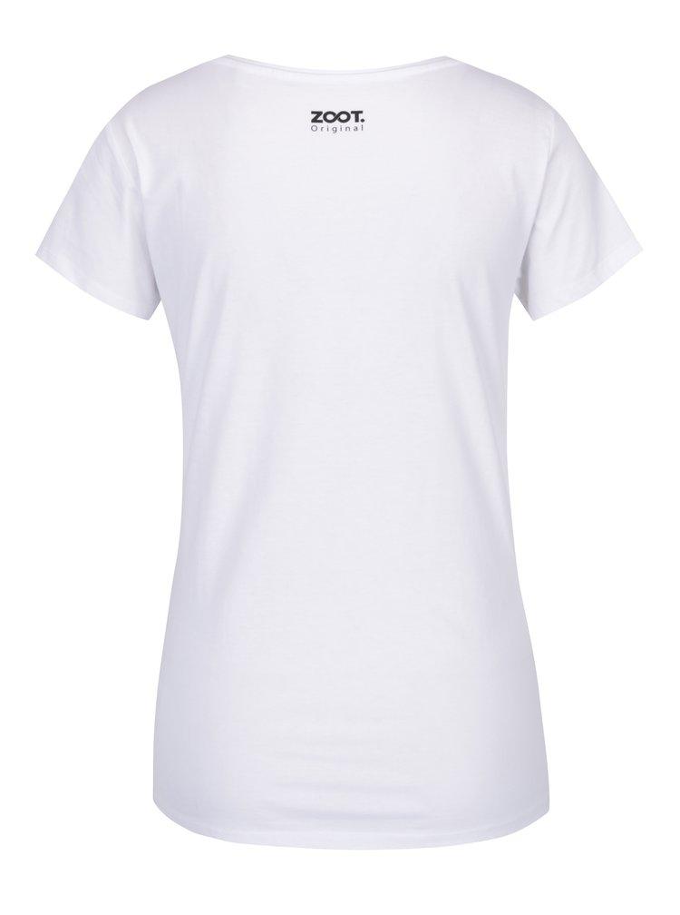 Bílé dámské tričko ZOOT Originál Nebreč.