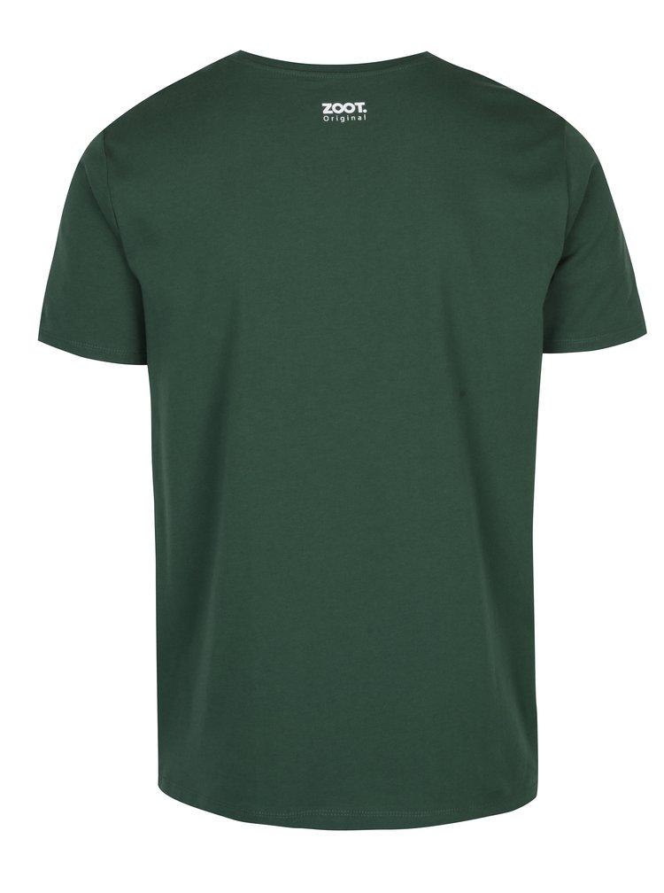 Zelené pánské tričko ZOOT Originál Už nikdy nebudu pít