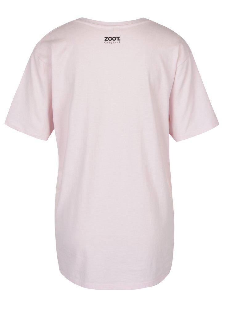 Růžové dámské tričko ZOOT Originál Exponáty