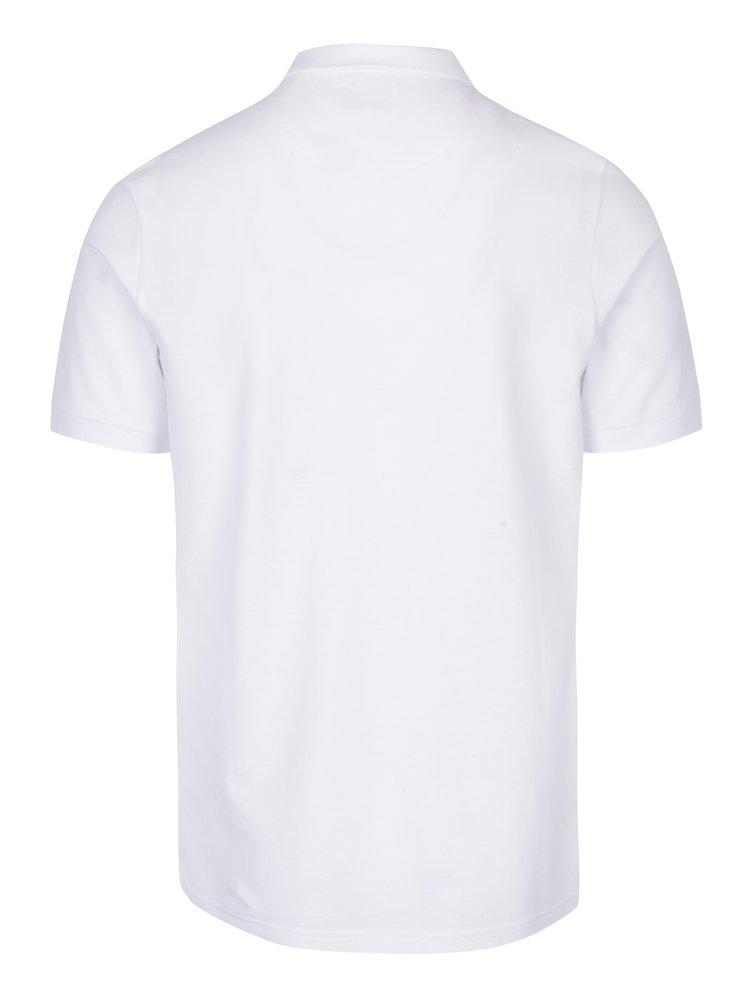 Bílé polo tričko Farah Blaney