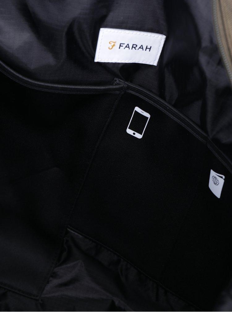 Geantă de călătorie kaki - Farah Franks