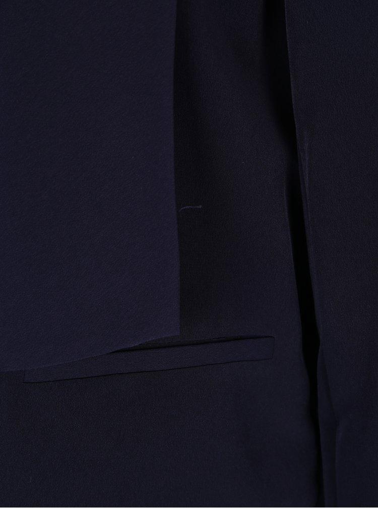 Tmavě modré lehké sako s 3/4 rukávem Dorothy Perkins