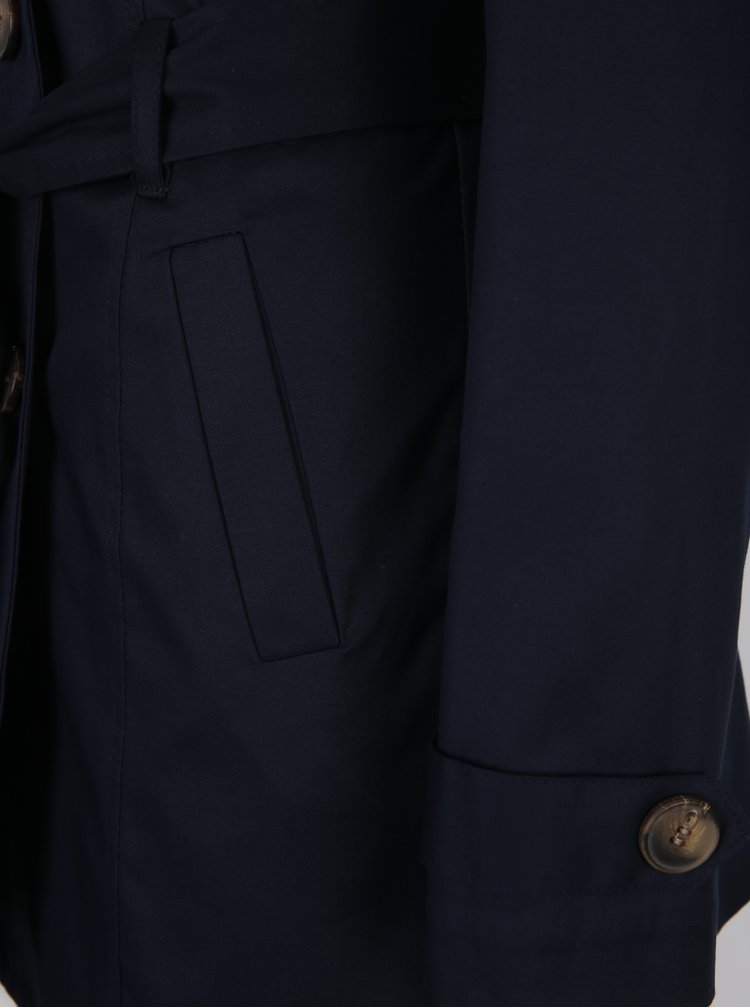 Trenci bleumarin cu cordon ZOOT