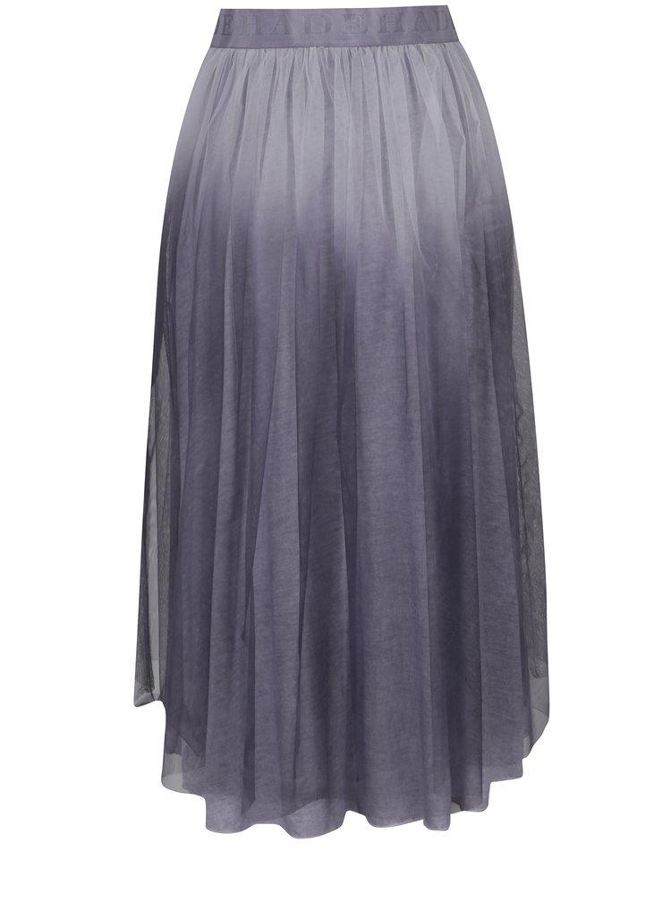 Šedá tylová sukně DEHA