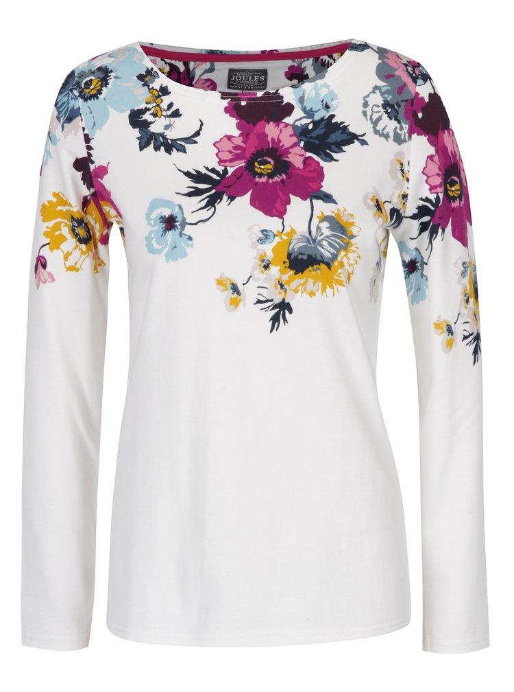 Bluza crem pentru femei cu imprimeu floral - Tom Joule
