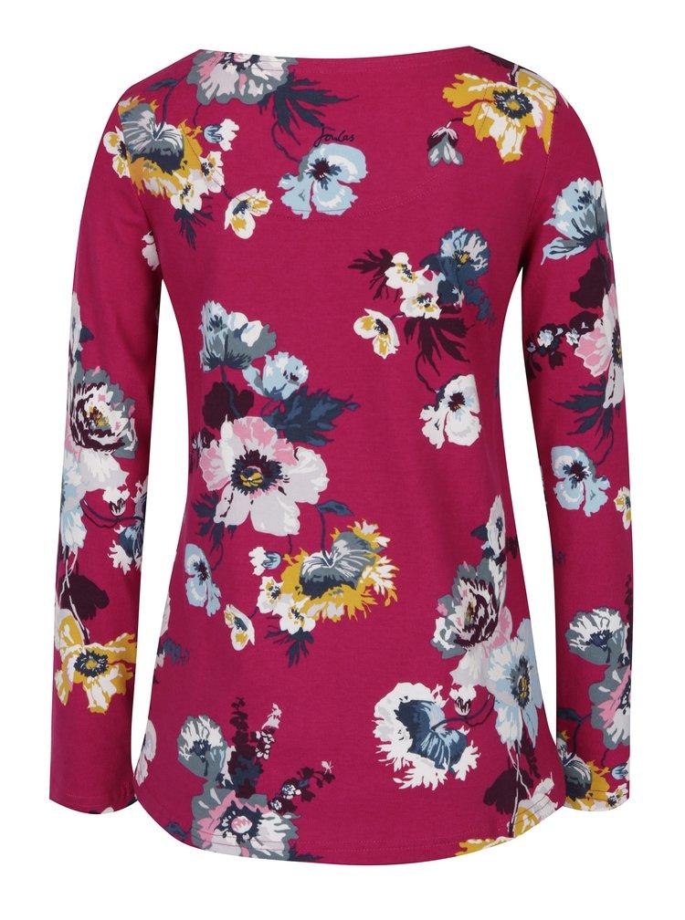Bluza roz de dama cu imprimeu floral -  Tom Joule