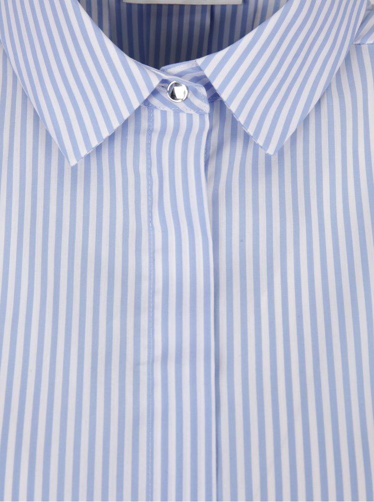 Bílo-modrá pruhovaná košile Rich & Royal