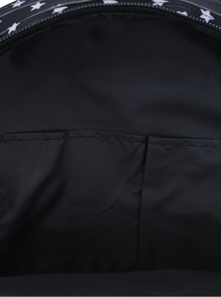 Černý batoh s motivem hvězd Superdry Montana 17 l
