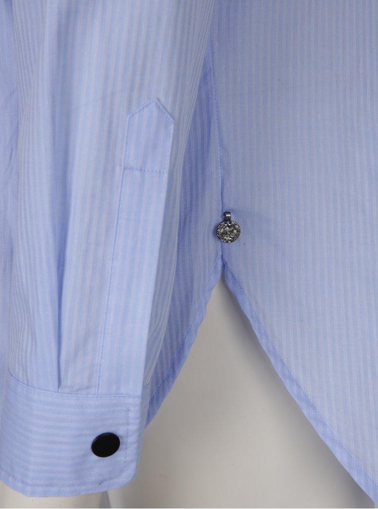 Camasa albastra cu panglici Scotch & Soda