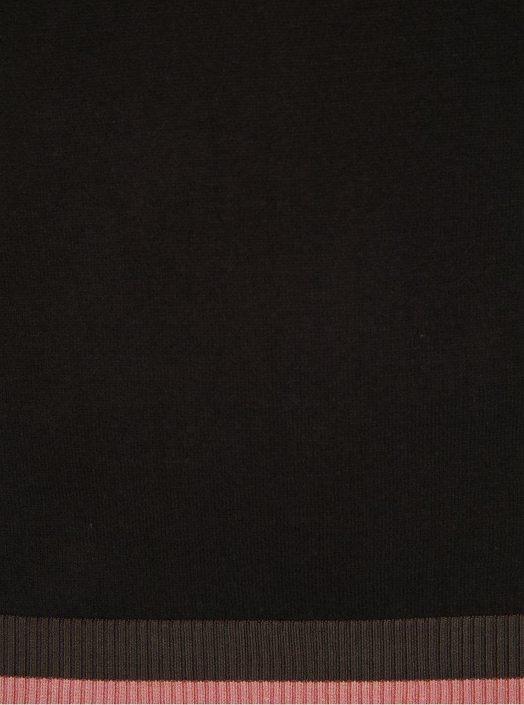 Tmavě hnědý svetr Scotch & Soda