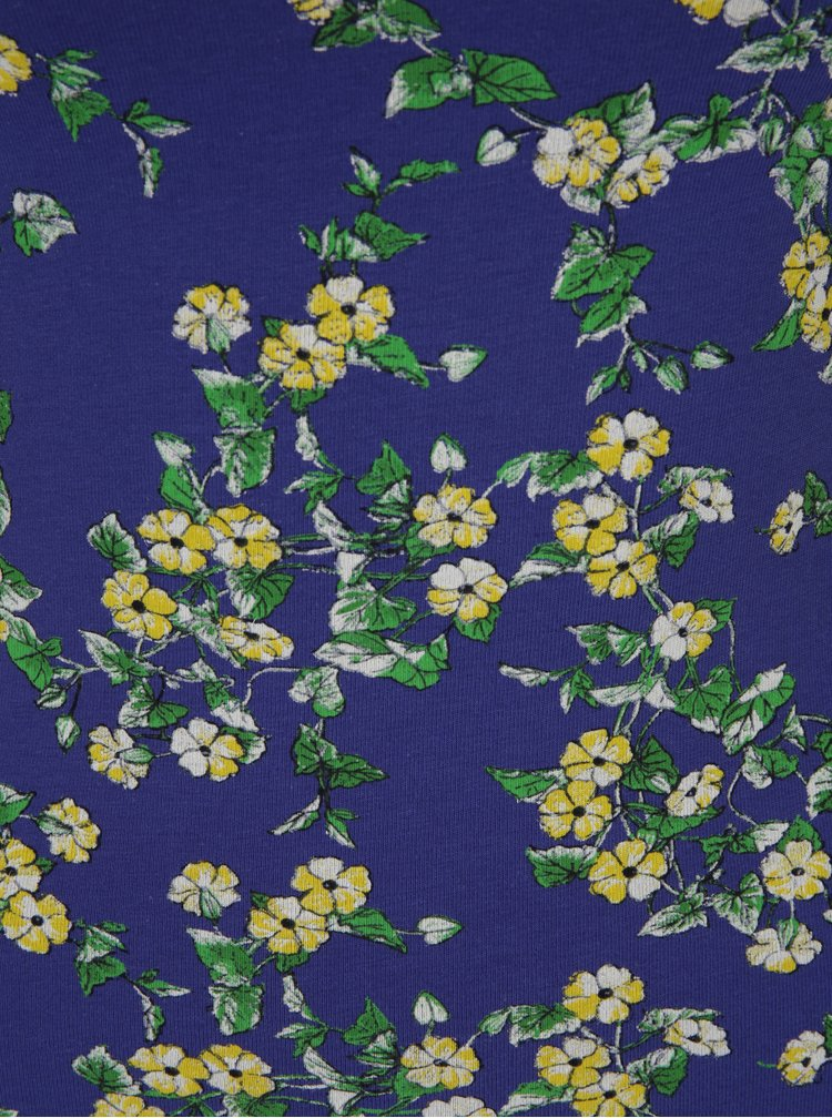 Body albastru cu flori galbene - Miss Selfridge