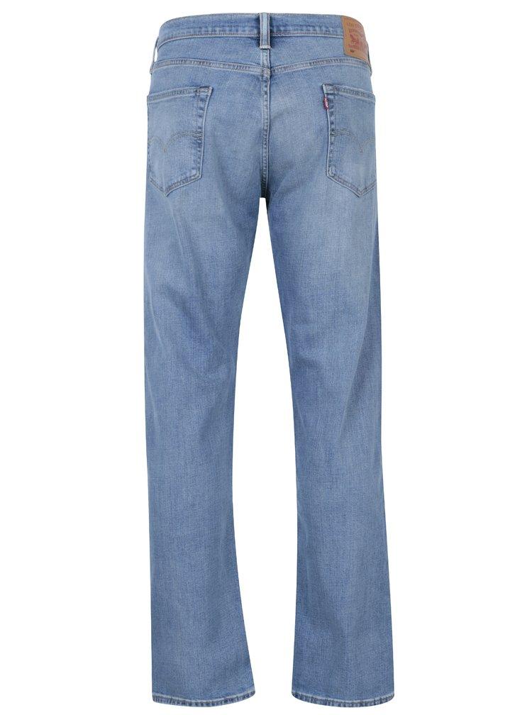 Blugi albastri cu aspect uzat pentru barbati Levi's® 504