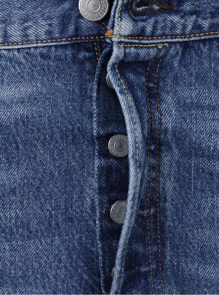 Modré pánské žíhané rovné džíny Levi's®