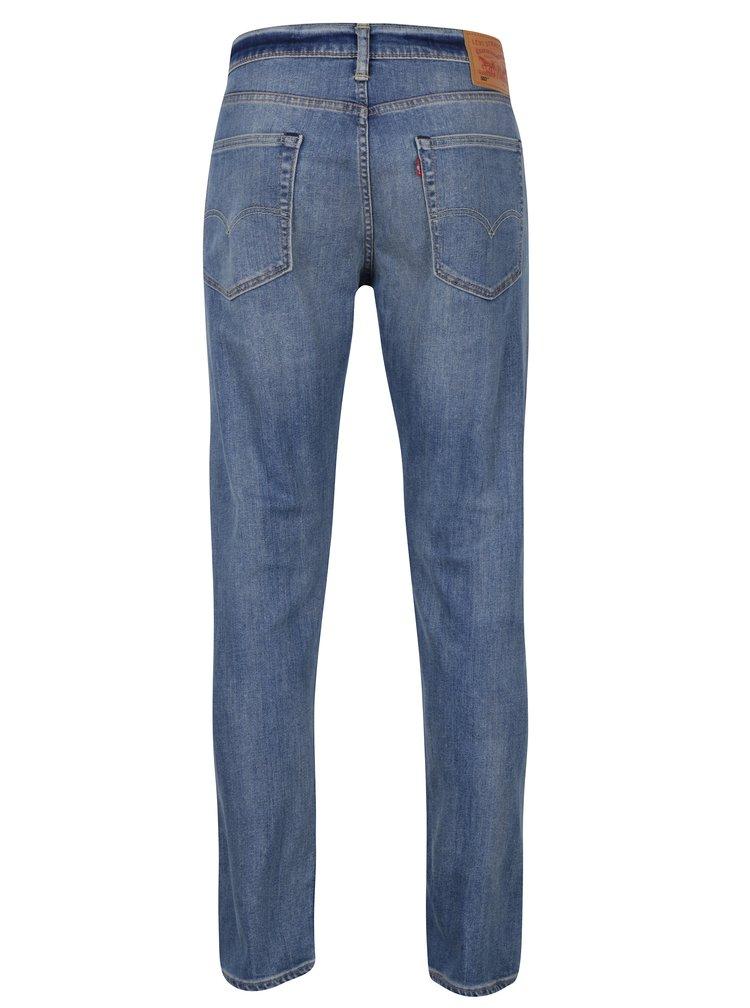 Modré pánské stretch džíny s vyšisovaným efektem Levi's®