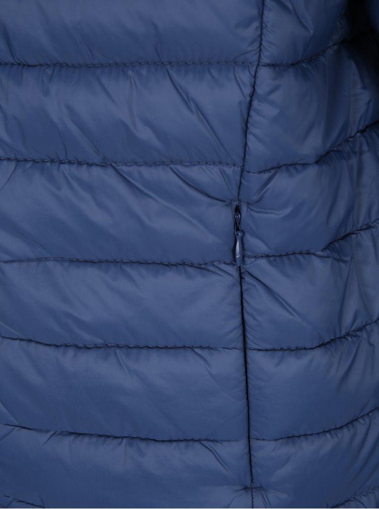 Modrá pánská prošívaná bunda s kapsami Blend
