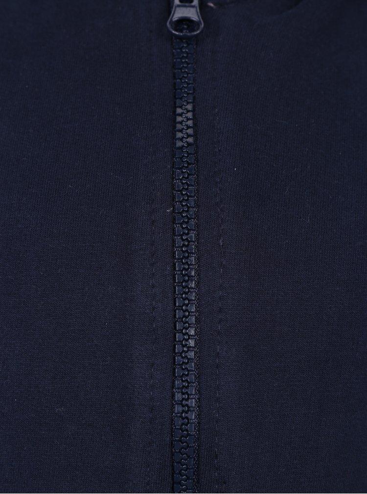 Tmavě modrá holčičí mikina s kapucí 5.10.15.