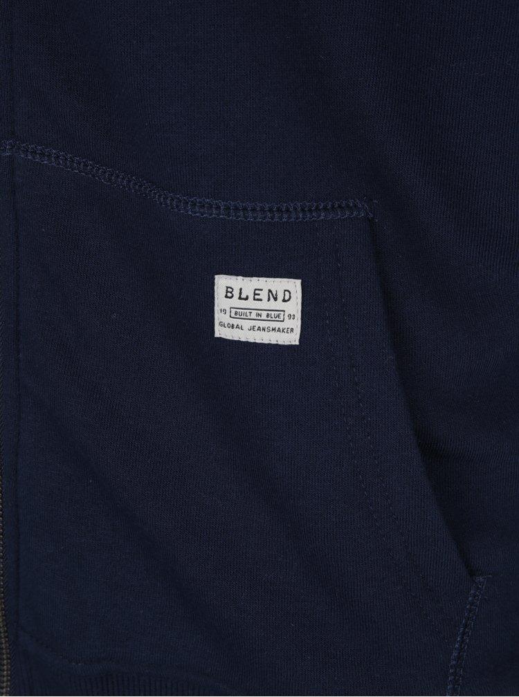 Hanorac bleumarin cu gluga -  Blend