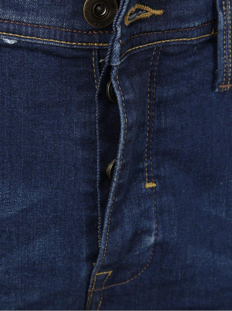 Blugi albastri cu aspect prespalat - Blend