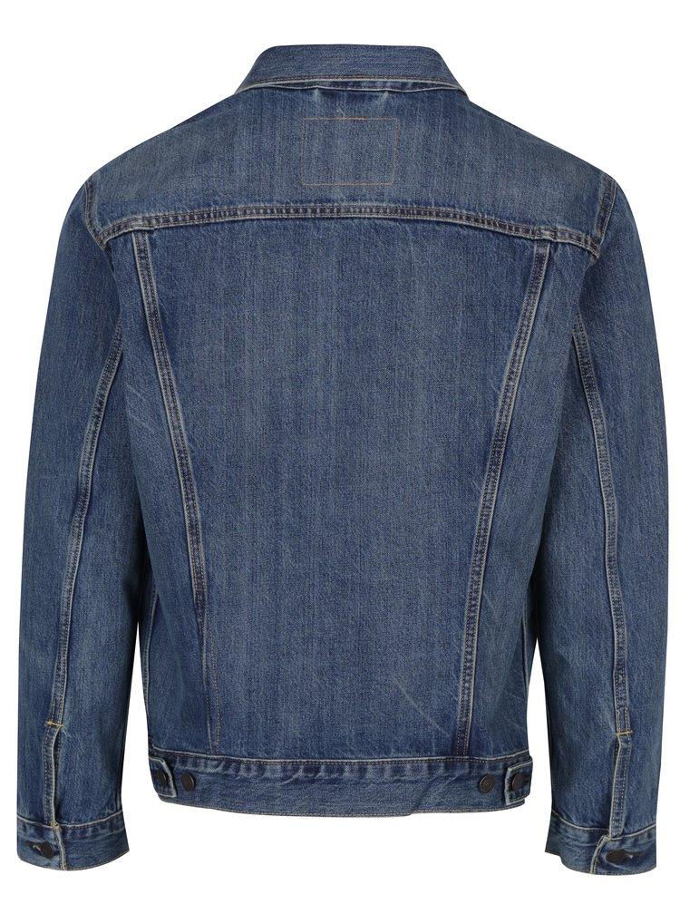 Jachetă bărbătească albastră din denim Levi's® The Trucker