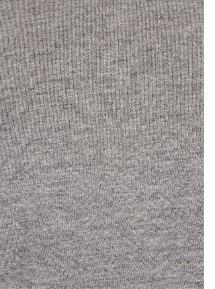 Šedé klučičí žíhané tričko s dlouhým rukávem 5.10.15.