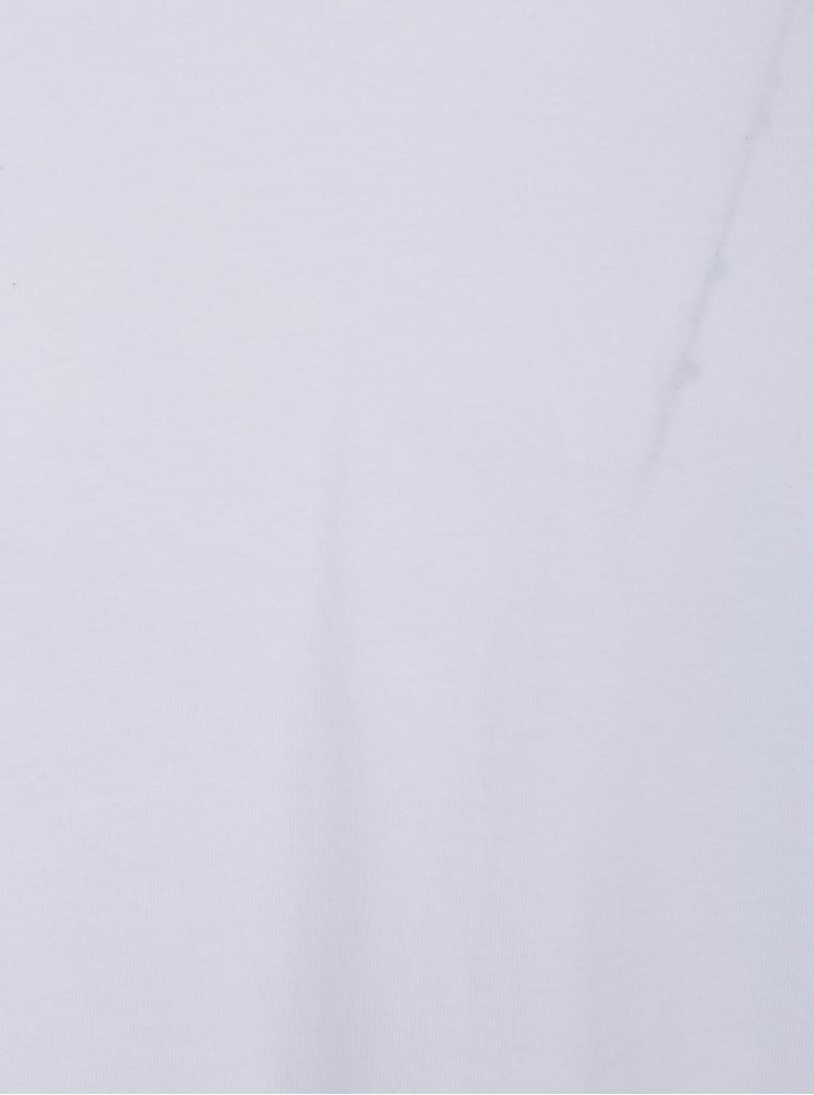 Set 2 tricouri barbatesti basic albe cu decolteu V Levi's®