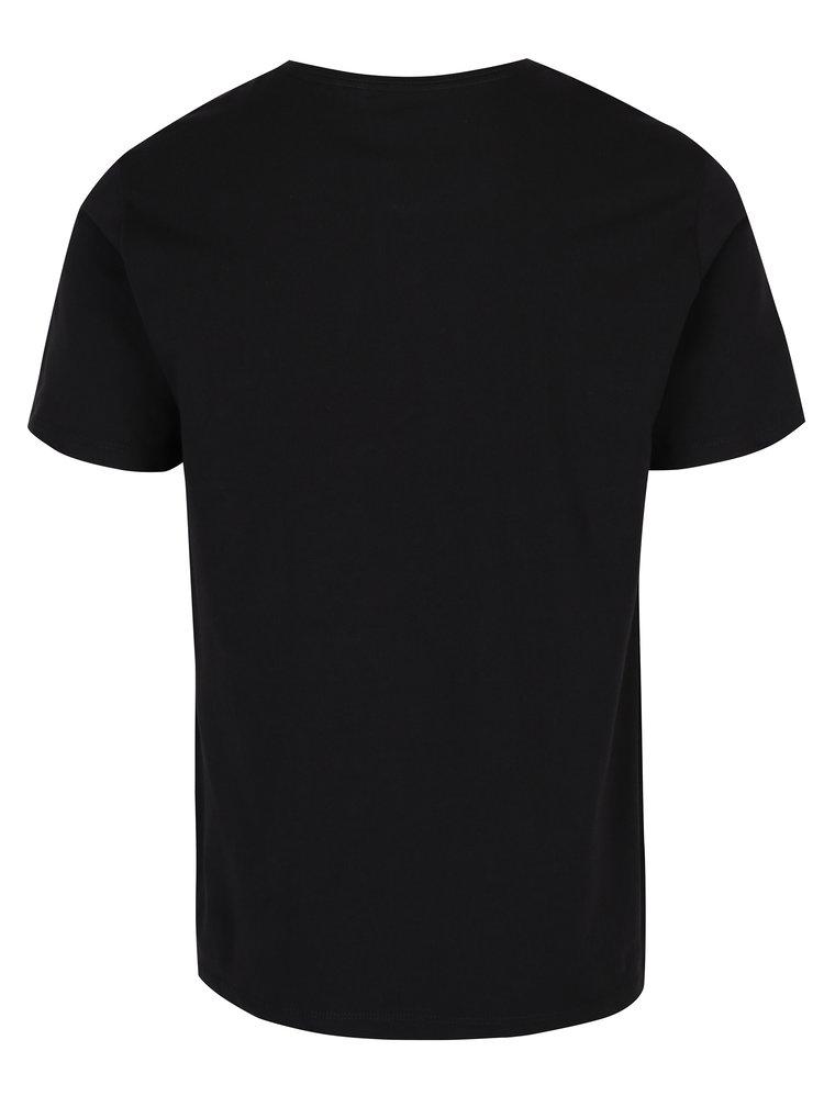 Sada dvou černých basic triček s véčkovým výstřihem Levi's®