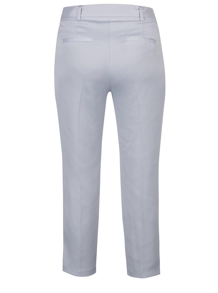 Pantaloni gri deschis cu funda in talie -  Dorothy Perkins