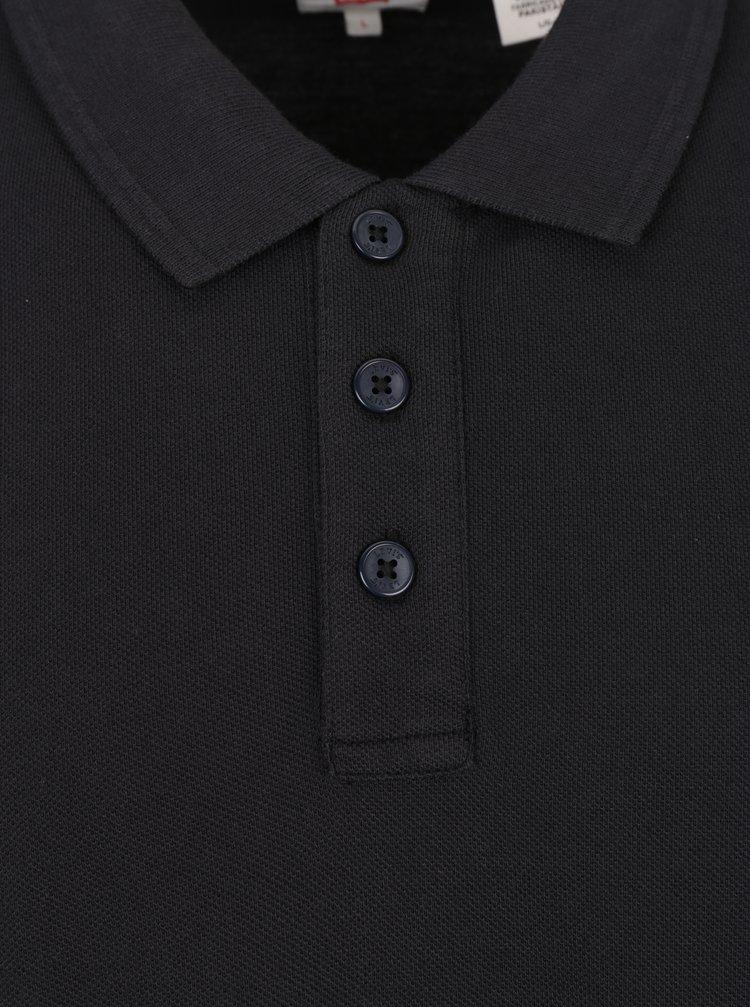Tricou bărbătesc negru polo  Levi's®