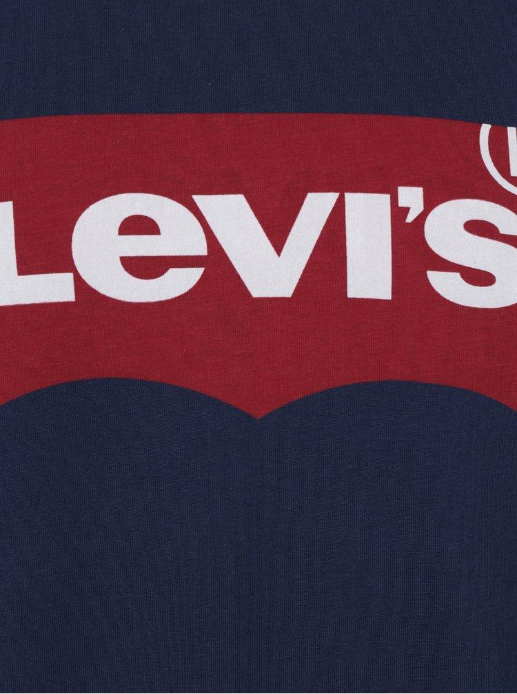 Tmavě modré pánské tričko s potiskem Levi's®