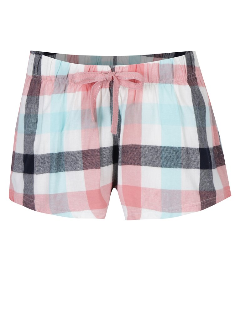 Pantaloni scurtii de pijama in carouri  Dorothy Perkins