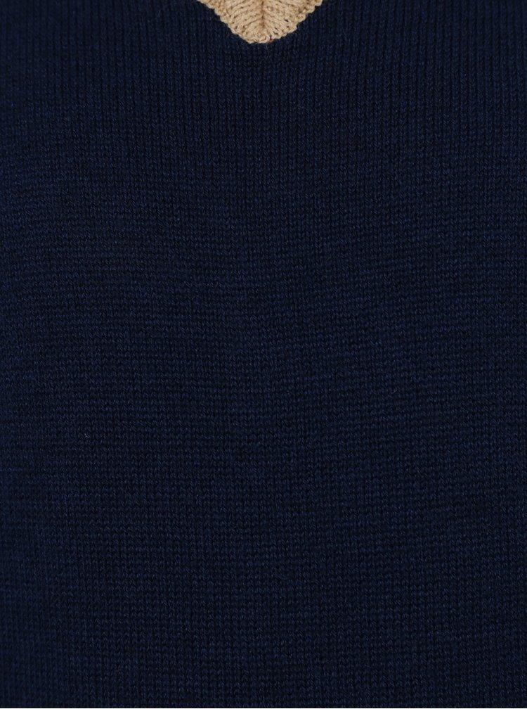 Modrá chlapčenská vesta 5.10.15.