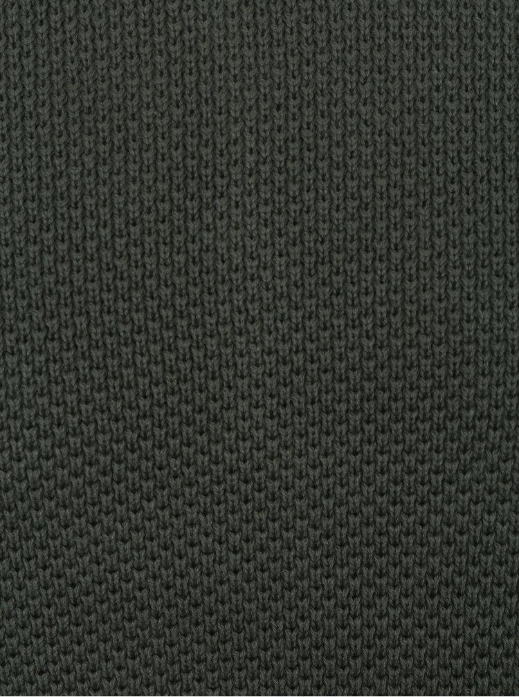Khaki svetr Jack & Jones Phil