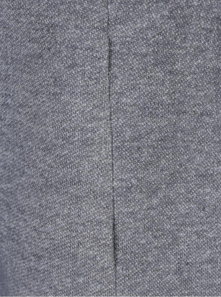 Palton subtire gri cu gluga ONLY Sedona