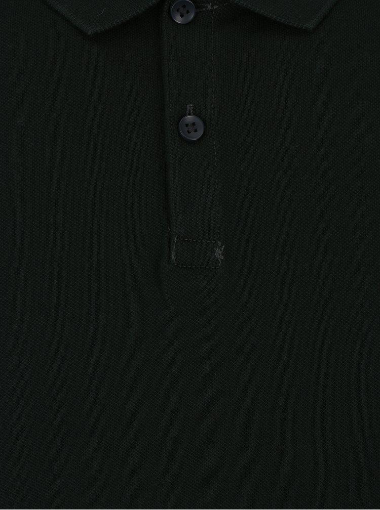 Tmavě zelené polo tričko Jack & Jones Belfast