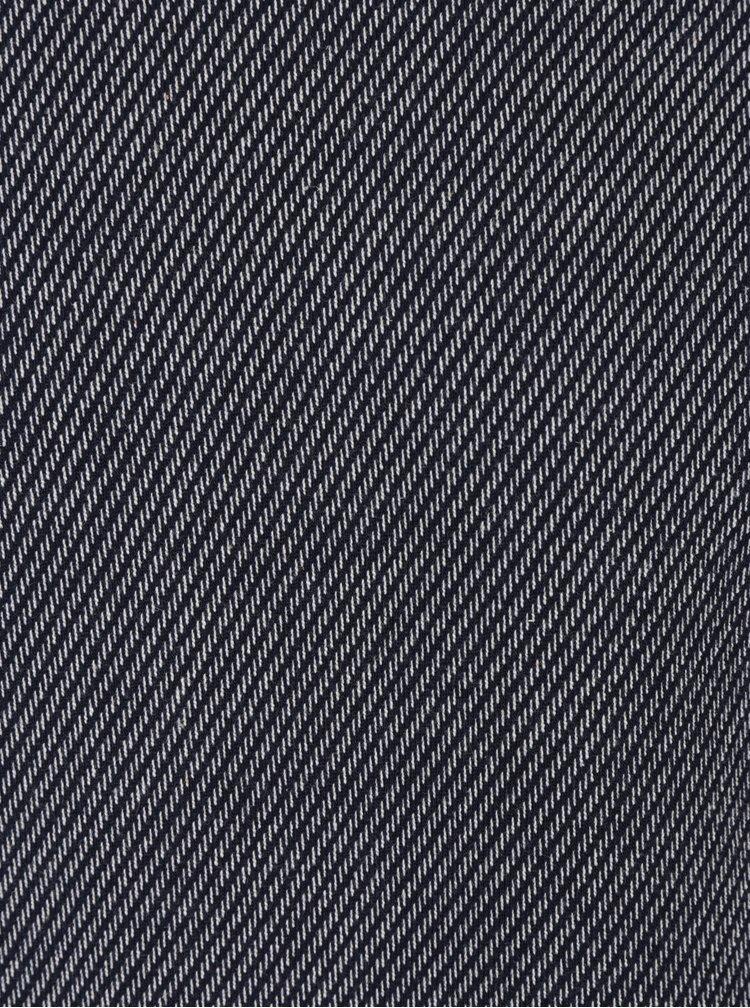 Tmavě modrá vzorovaná mikina Selected Homme Herring