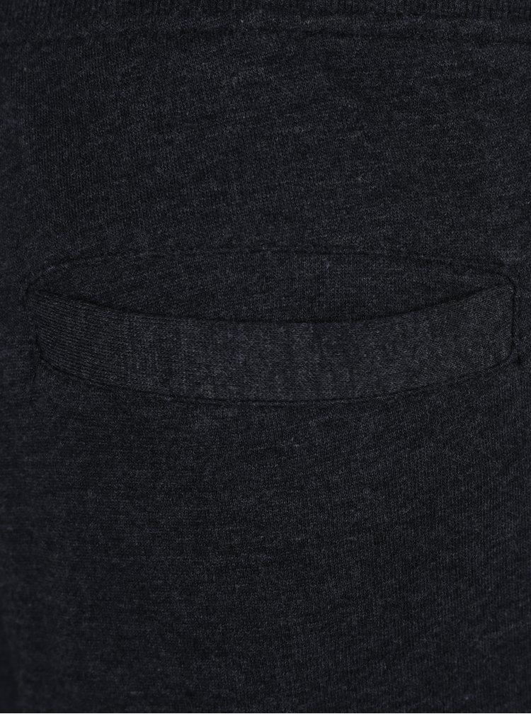 Tmavě šedé tepláky s kapsami Jack & Jones Will