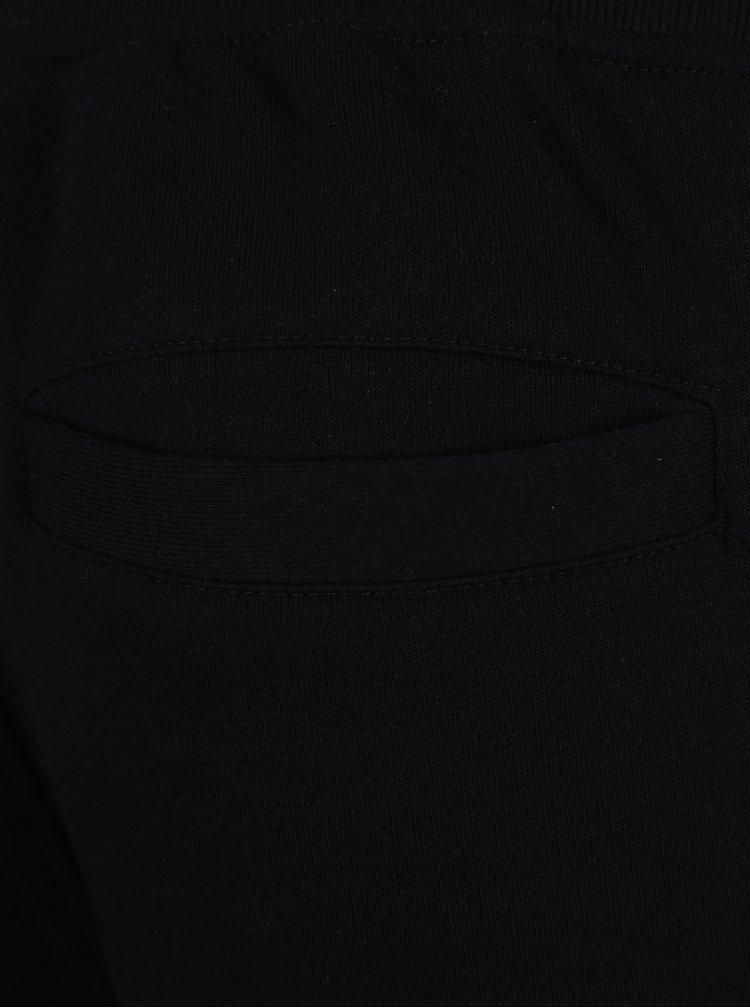 Černé tepláky s kapsami Jack & Jones Will