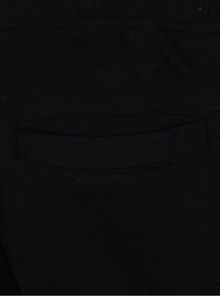 Čierne tepláky s vreckami Jack & Jones Will