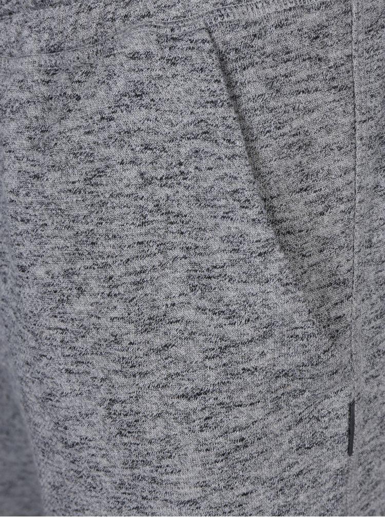 Sivé melírované tepláky s vreckami Jack & Jones Chanson