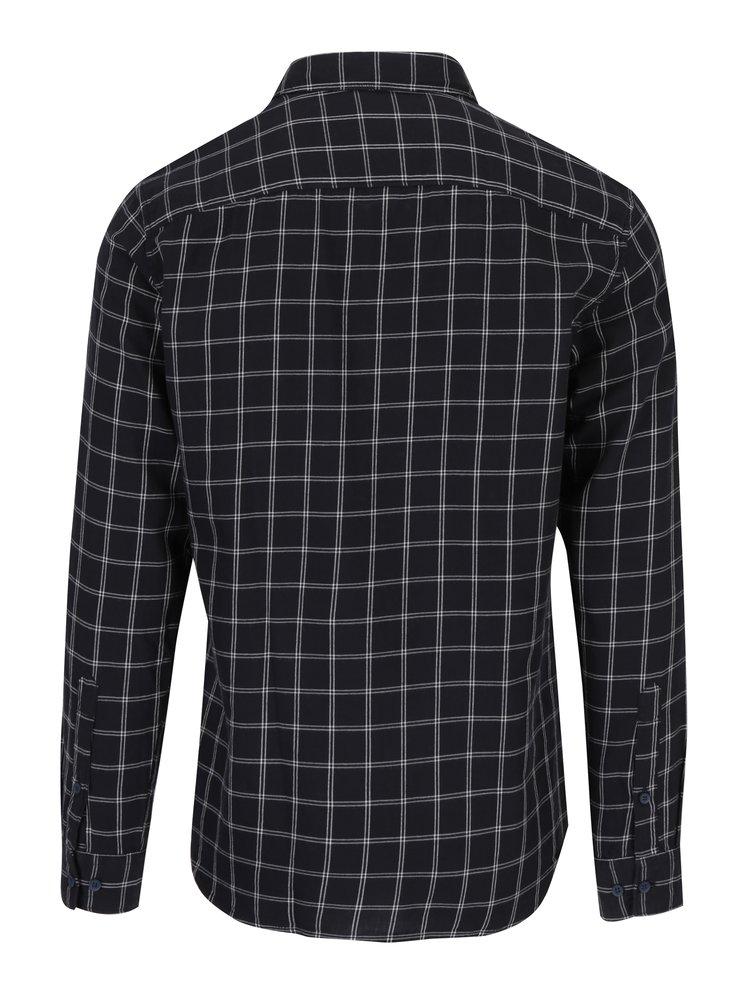 Černá kostkovaná košile Selected Homme One Banks