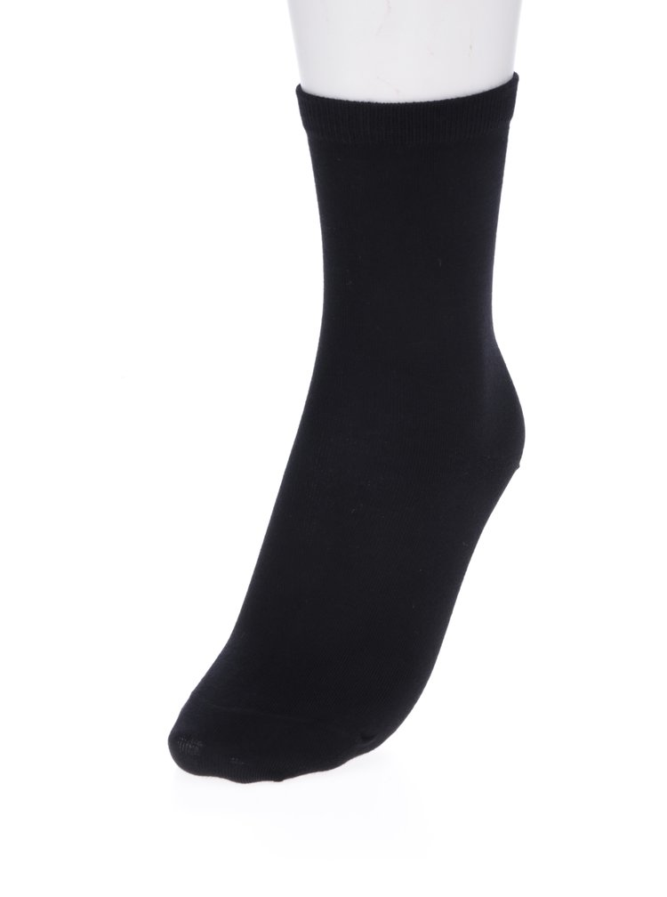 Černé ponožky Selected Femme Bobby