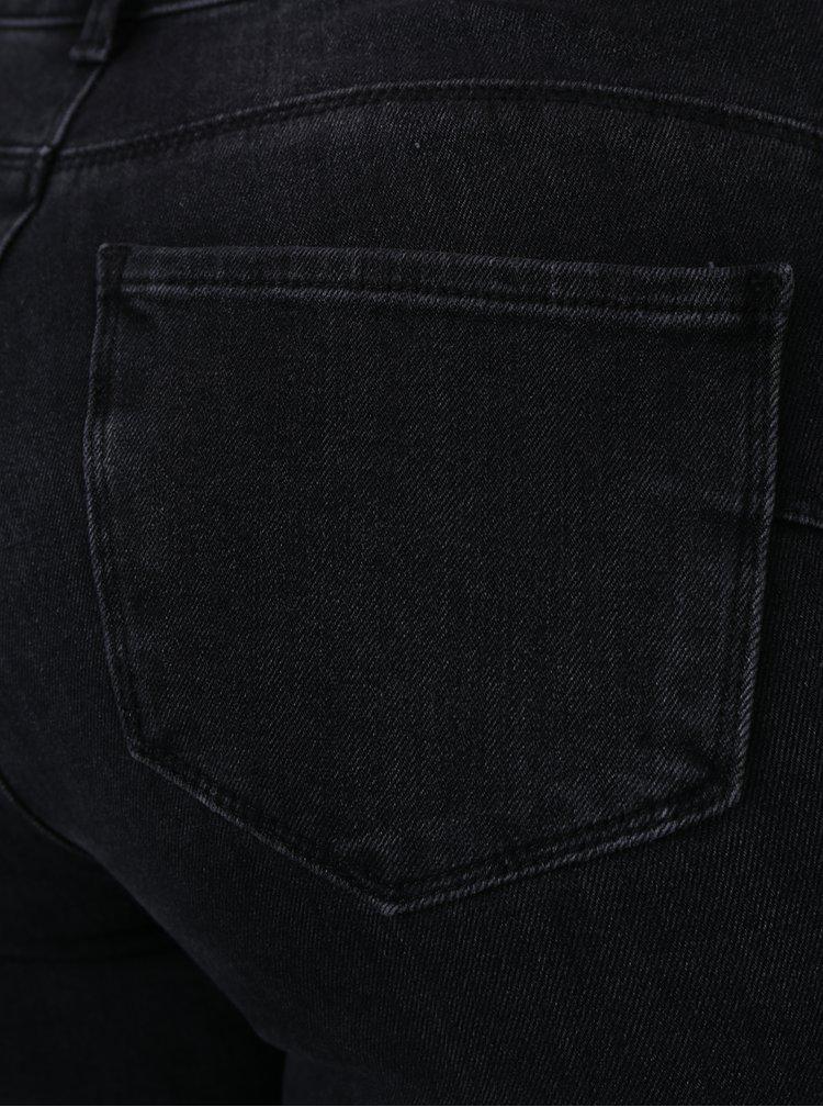 Černé push up skinny džíny VERO MODA Icon