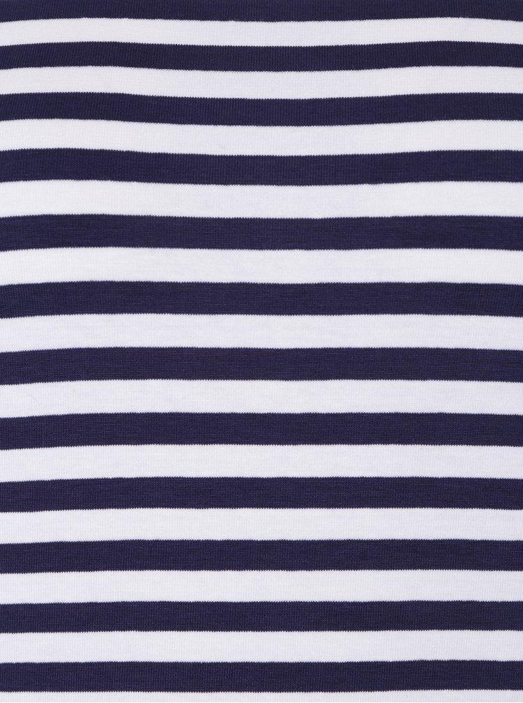 Bluza bleumarin&crem in dungi  ZOOT