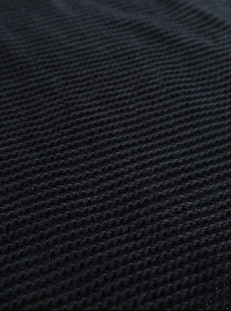 Černá pletená šála VERO MODA Misty