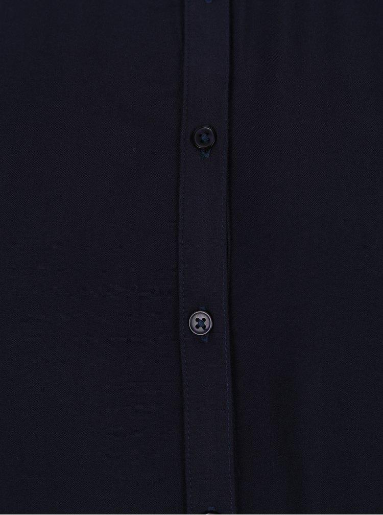 Tmavě modrá dlouhá košile Jacqueline de Yong Safira