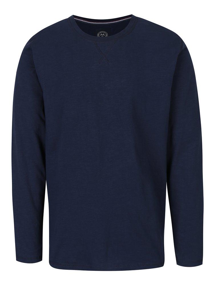 Tmavě modré tričko s dlouhým rukávem Lindbergh