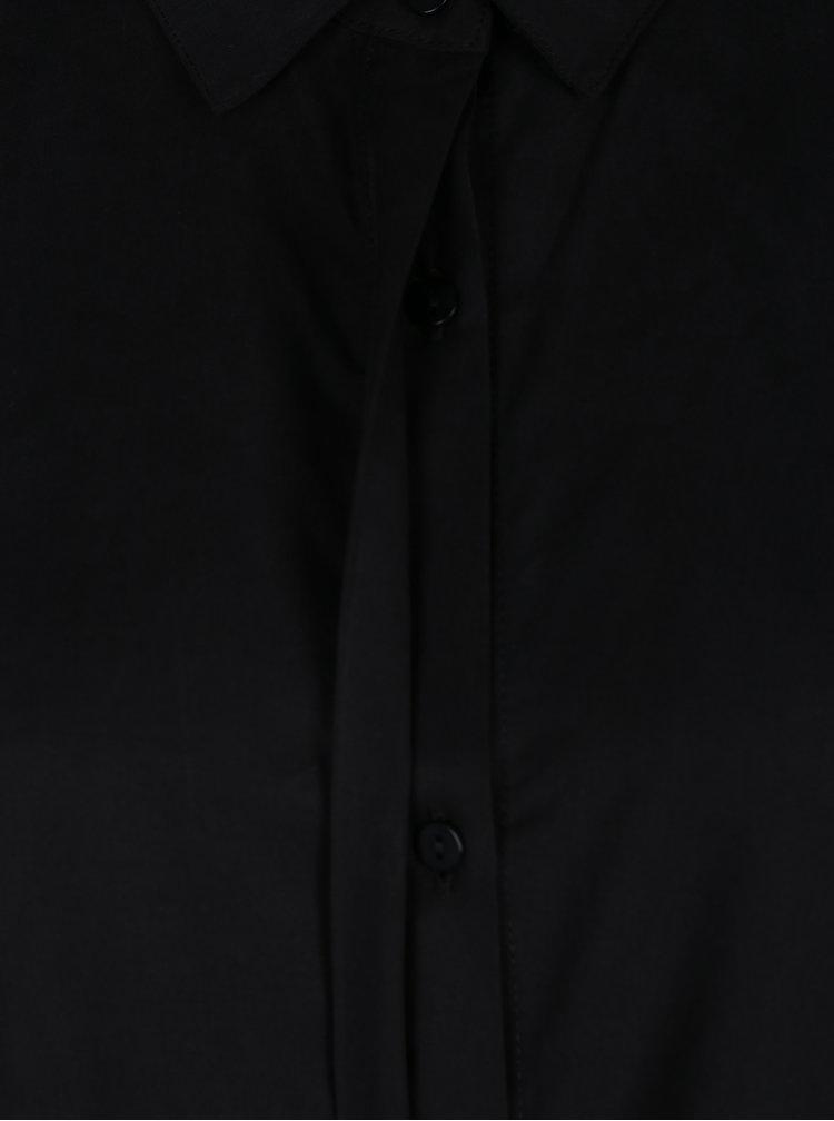 Černé košilové šaty VERO MODA Amy