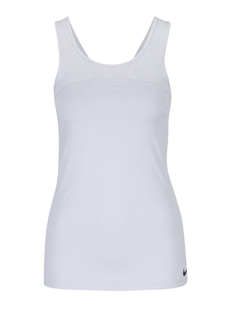 Světle šedé dámské funkční tílko Nike