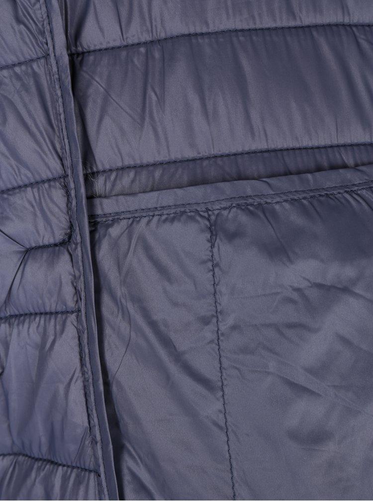 Vesta bleumarin matlasata cu gluga ONLY Tahoe